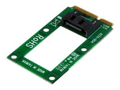StarTech.com mSATA to SATA HDD/SSD Adapter - Mini SATA to SATA Converter - contrôleur de stockage - mSATA - SATA 6Gb/s