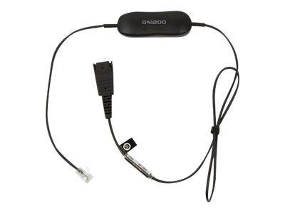 Jabra GN1216 - câble pour casque micro - 2 m