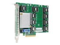 HP SAS Expander Card - carte de mise à niveau de contrôleur de stockage - SATA 6Gb/s / SAS 12Gb/s - PCIe