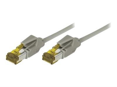 Cordon Patch Rj45 S/Ftp Cat 6A Lsoh Snagless Gris - 2 M