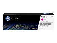 HP 201X - magenta - original - LaserJet - cartouche de toner ( CF403X )