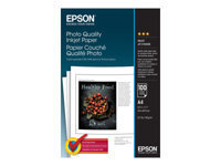 Epson Photo Quality Ink Jet Paper - papier - 100 feuille(s)