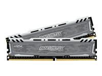 Ballistix Sport LT - mémoire - DDR4 - 16 Go: 2 x 8 Go - DIMM 288 broches