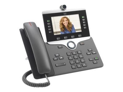 Cisco IP Phone 8845 - visiophone IP - appareil photo numérique, interface Bluetooth