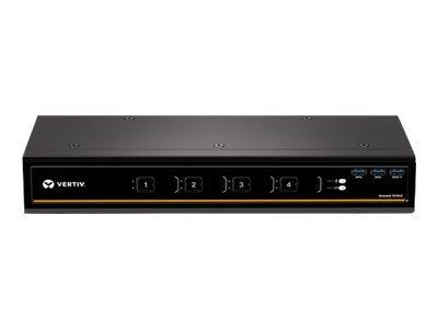 Avocent SV340D - commutateur écran-clavier-souris/audio/USB - 4 ports