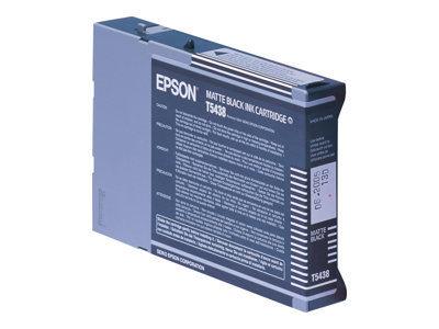 Epson T5438 - noir mat - originale - cartouche d\'encre