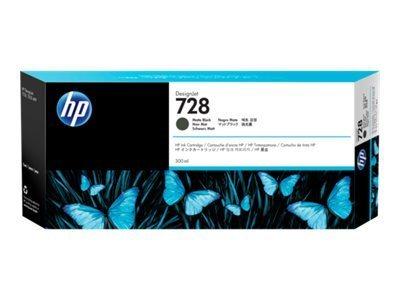 HP 728 - noir mat - original - DesignJet - cartouche d\'encre