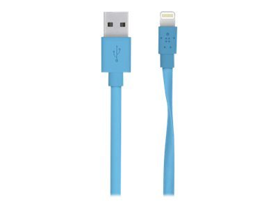 Belkin MIXIT Flat Lightning to USB Cable - câble Lightning - Lightning / USB 2.0 - 1.22 m
