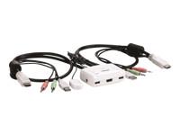 TRENDnet TK 215i - commutateur écran-clavier-souris/audio - 2 ports - Ordinateur de bureau