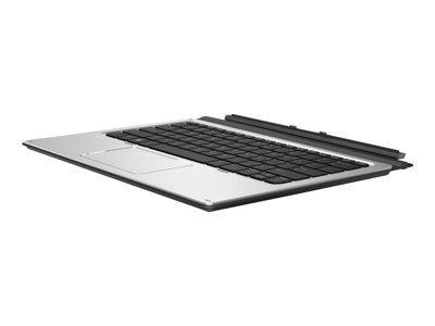 HP Advanced - clavier - avec NFC - gris foncé