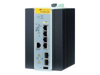 Allied Telesis AT IE200-6GP - commutateur - 6 ports - Géré
