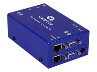 Avocent LongView 3000 Series - rallonge écran-clavier-souris/audio/USB