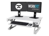 Ergotron Poste de travail assis-debout de bureau - pied