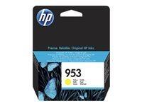 HP 953XL - à rendement élevé - jaune - originale - cartouche d'encre