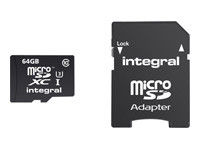 Integral Action Camera - carte mémoire flash - 64 Go - microSDXC UHS-I