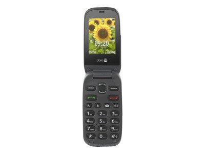 Doro PhoneEasy 6030 - graphite - GSM - téléphone mobile