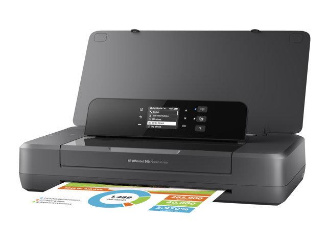 HP Officejet 200 Mobile Printer - imprimante - couleur - jet d\'encre