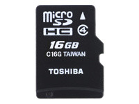 Toshiba High Speed M102 - carte mémoire flash - 16 Go - microSDHC