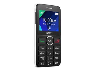 Alcatel One Touch 20.08G - noir, blanc - 16 Mo - GSM - téléphone mobile