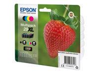 Epson 29XL Multipack - pack de 4 - taille XL - noir, jaune, cyan, magenta - originale - cartouche d'encre
