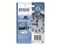 Epson 27XL Multipack - pack de 3 - XL - jaune, cyan, magenta - originale - cartouche d'encre