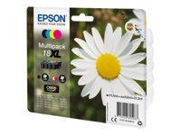 Epson 18XL - pack de 4 - XL - noir, jaune, cyan, magenta - originale - cartouche d'encre