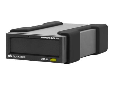 Tandberg RDX QuikStor - lecteur RDX - SuperSpeed USB 3.0 - externe - avec cartouche 4 TB
