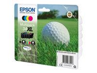 Epson 34XL - pack de 4 - XL - noir, jaune, cyan, magenta - originale - cartouche d'encre