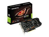 Gigabyte GeForce GTX 1050 Windforce OC 2G - carte graphique - NVIDIA GeForce GTX 1050 - 2 Go