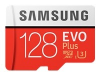 Samsung EVO Plus MB-MC128G - carte mémoire flash - 128 Go - microSDXC UHS-I