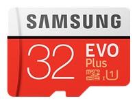 Samsung EVO Plus MB-MC32G - carte mémoire flash - 32 Go - microSDHC UHS-I