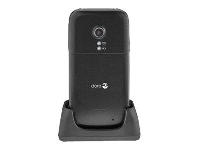 Doro PhoneEasy 621 - noir - 3G GSM - téléphone mobile