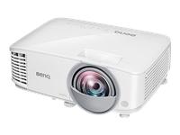 BenQ MW826ST - projecteur DLP - courte focale - portable - 3D - LAN