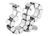 StarTech.com Goulotte passe-câbles - Vertèbres - Gestionnaire de câbles - Vertical - Base lestée - Organisateur de câbles - guide pour câbles