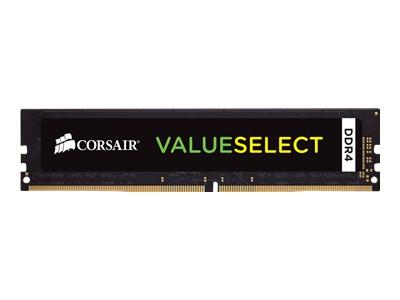 CORSAIR Value Select - DDR4 - 8 Go - DIMM 288 broches - mémoire sans tampon
