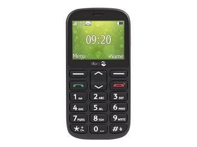 Doro 1361 - noir - GSM - téléphone mobile