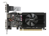 MSI GT 710 1GD3 LP - carte graphique - GF GT 710 - 1 Go