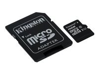 KINGSTON Micro SDHC UHS-I Canvas Select Class 10 16 Go adaptateur SD inclus
