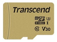 Transcend 500S - carte mémoire flash - 16 Go - microSDHC