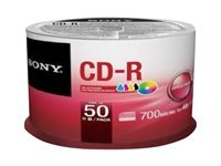 Sony CDQ-80P - CD-R x 50 - 700 Mo - support de stockage