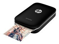 HP Sprocket Photo - imprimante - couleur - zinc - avec Papier photo HP ZINK Sticky-Backed (10 feuilles)