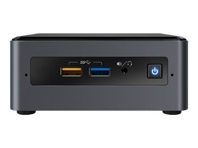 Intel Next Unit of Computing Kit NUC7CJYH - mini PC - Celeron J4005 2 GHz - 0 Mo