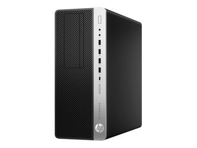 HP EliteDesk 800 G4 - tour - Core i5 8500 3 GHz - 8 Go - 256 Go