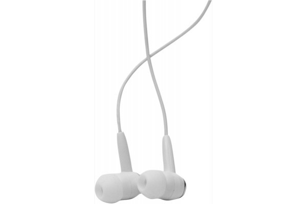 DACOMEX Ecouteurs Intra-auriculaires Jack 3.5 mm blanc
