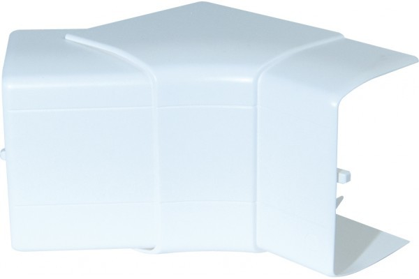 Angle intérieur variable 90x55 - blanc neige