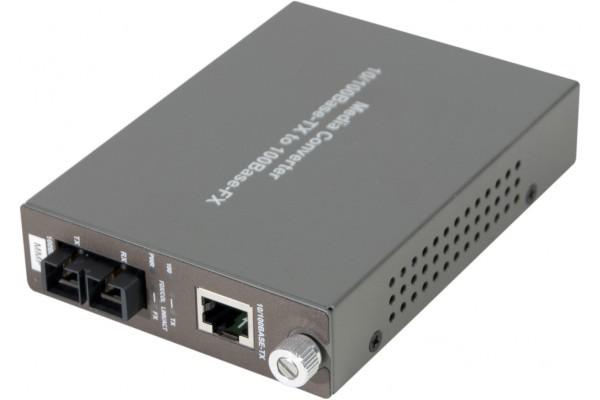 Convertisseur Fibre Optique/Rj45 - 100Mbps Sc Multimode