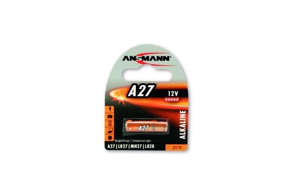 ANSMANN Piles alcalines 1516-0001 A27 blister de 1