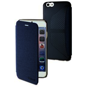 Muvit etui easy folio jean bleu pour apple iphone 6+_