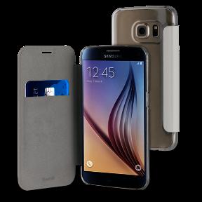 Muvit - étui folio case blanc - Samsung Galaxy S7