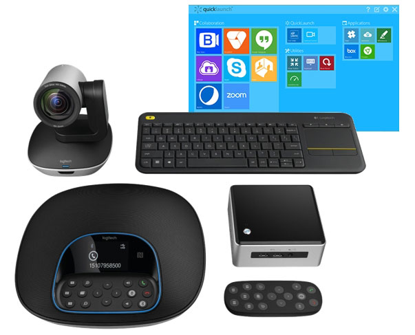 Kit Logitech GROUP avec Intel® NUC